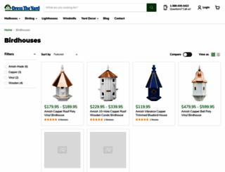 amishbirdhouse.com screenshot