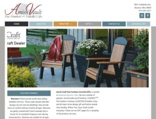 amishvault.com screenshot