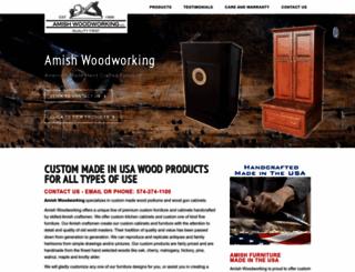 amishwoodworking.com screenshot