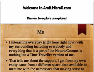 amit.misrag.com screenshot