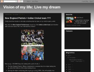 amitdesai.nomadlife.org screenshot