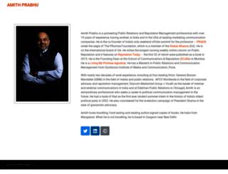 amithprabhu.com screenshot
