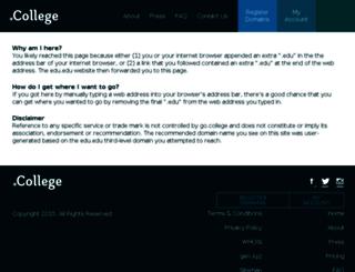 amizone.edu.net screenshot