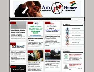 amjobhunter.info screenshot
