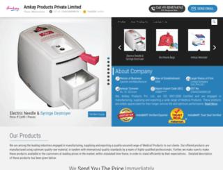 amkayproducts.net screenshot