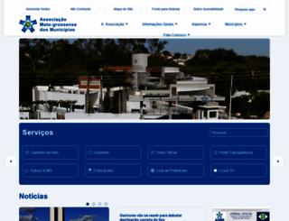 amm.org.br screenshot