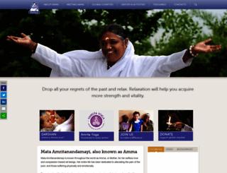 amma.org screenshot