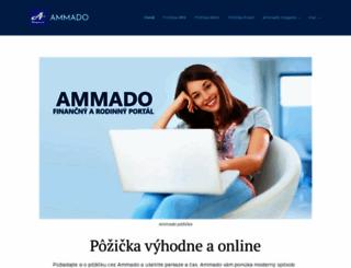 ammado.sk screenshot