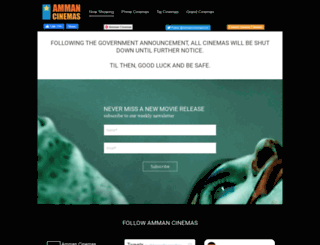 ammancinemas.com screenshot