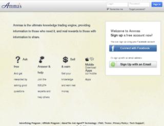 ammas.com screenshot