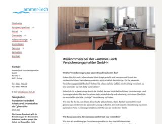 ammer-lech.de screenshot