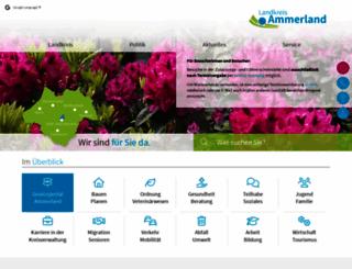 ammerland.de screenshot