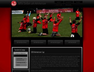 ammerseecup.de screenshot