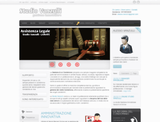 amministratorecondominiovanzulli.com screenshot