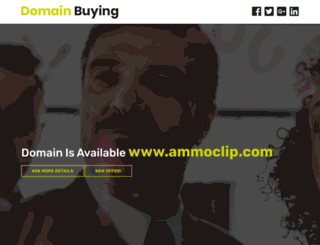 ammoclip.com screenshot