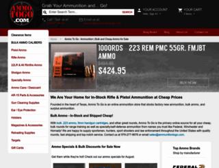 ammunitiontogo.com screenshot