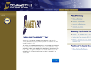 amnestypay.in.gov screenshot