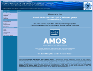 amo-csd.lbl.gov screenshot