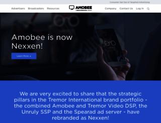 amobee.com screenshot