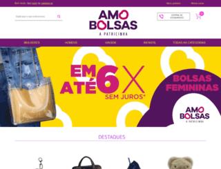 amobolsas.com.br screenshot