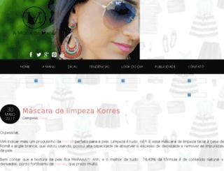 amodadamanu.com.br screenshot