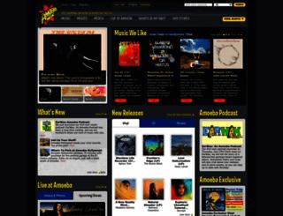 amoeba.com screenshot