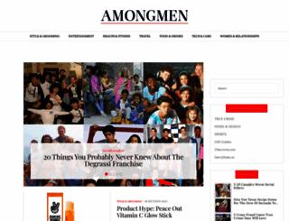amongmen.com screenshot