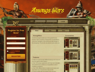 amongswars.com screenshot