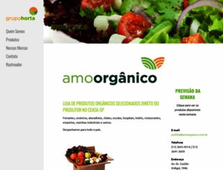 amoorganico.com.br screenshot
