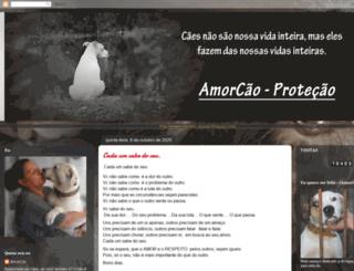 amorcaoprotecao.blogspot.com screenshot
