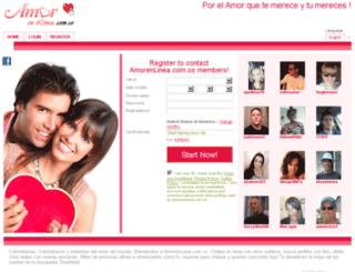 amorenlinea.com.co screenshot