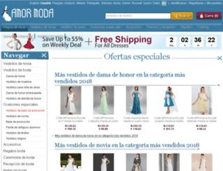 amormoda.es screenshot