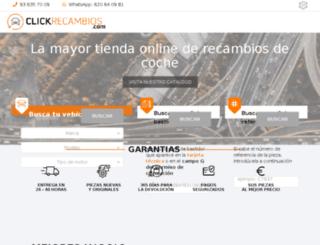 amortiguadores.clickrecambios.com screenshot