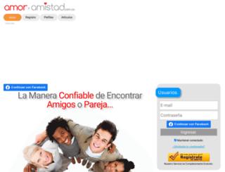 amoryamistad.com.co screenshot