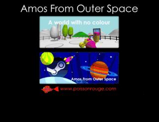 amosfromouterspace.com screenshot