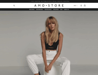 amostore.com.au screenshot
