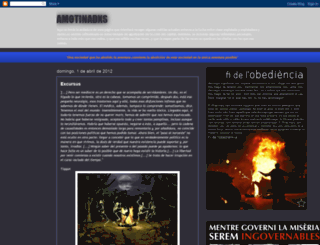 amotinadxs.blogspot.com screenshot