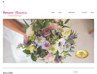 amourflowersgeraldton.com.au screenshot