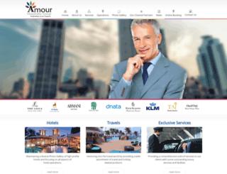 amourhospitalitygroup.com screenshot