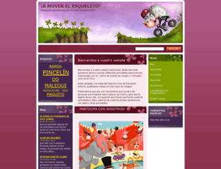 amoverelesqueleto.webnode.es screenshot