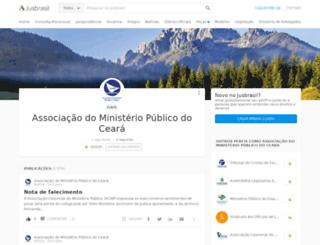 amp-ce.jusbrasil.com.br screenshot