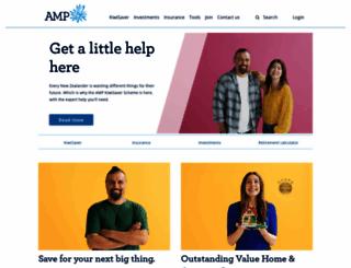 amp.co.nz screenshot