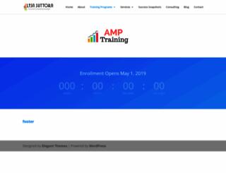 amp.lisasuttora.com screenshot