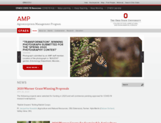 amp.osu.edu screenshot