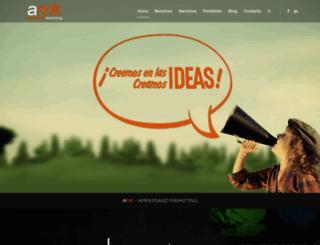 ampersandmarketing.net screenshot