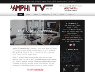 amphitvrepair.com screenshot