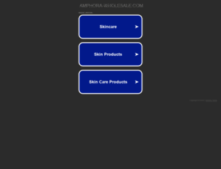 amphora-wholesale.com screenshot