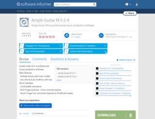 ample-guitar-m-ii.software.informer.com screenshot