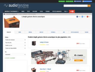 ampli-guitare-electro-acoustique.audiofanzine.com screenshot