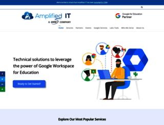 amplifiedit.com screenshot